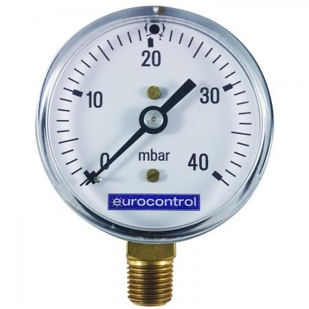 Manómetros para Gas a Pulmón